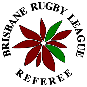 "After the 75th anniversary, a circular logo was adopted being the red poinsettia surrounded by the words ""Brisbane Rugby League"