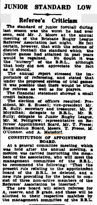 Courier Mail 20 Feb 1934
