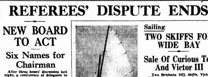 Courier Mail 31 Mar 1937