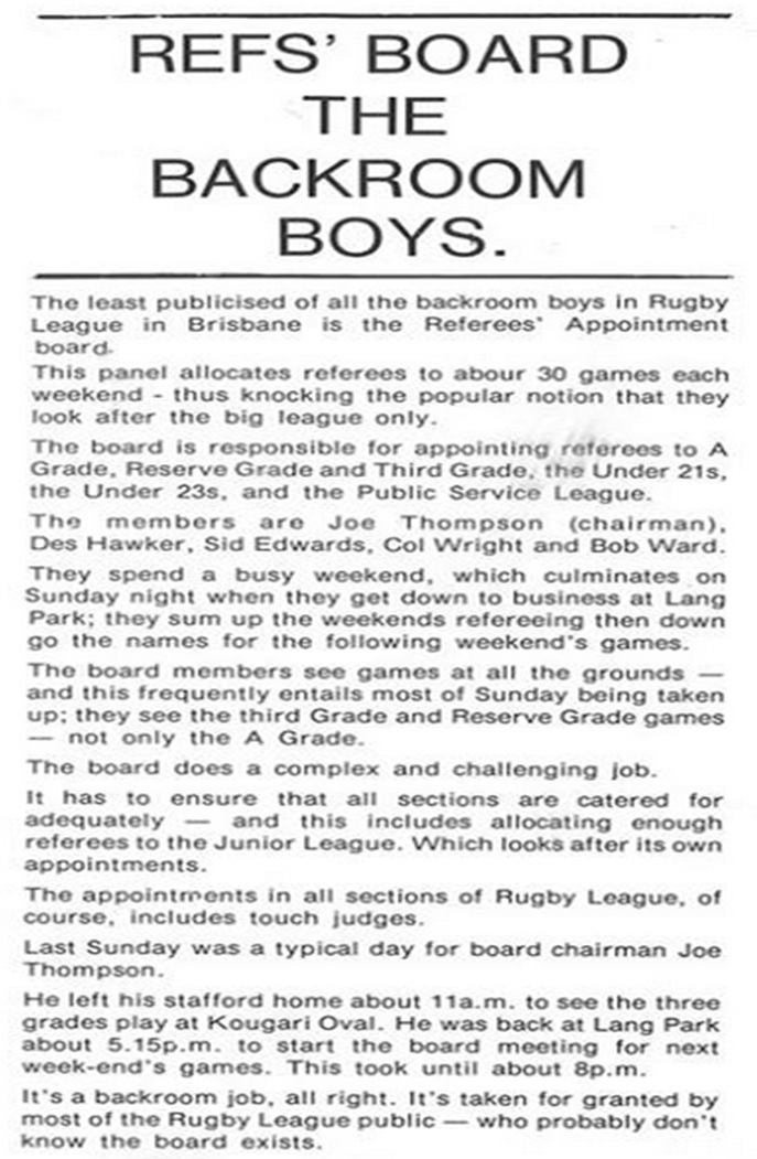 Rugby League News 1977 p23